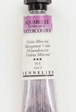 Sennelier, Aquarelle Watercolor Paint, Manganese Violet, 915, 10ml Tube, Series 4