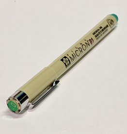 Sakura Micron Green Pen 01 .25mm
