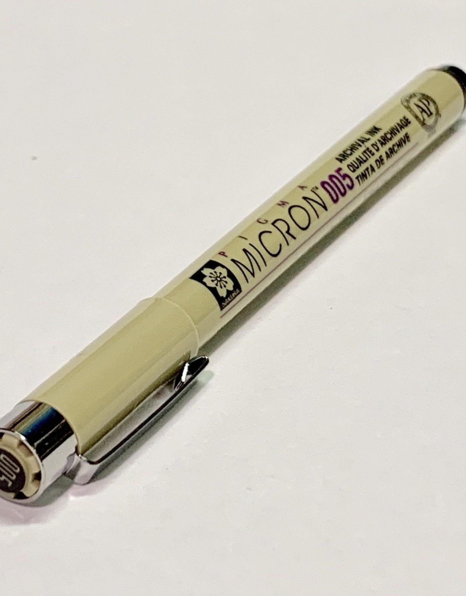 Sakura Micron Black Pen 005 .20mm