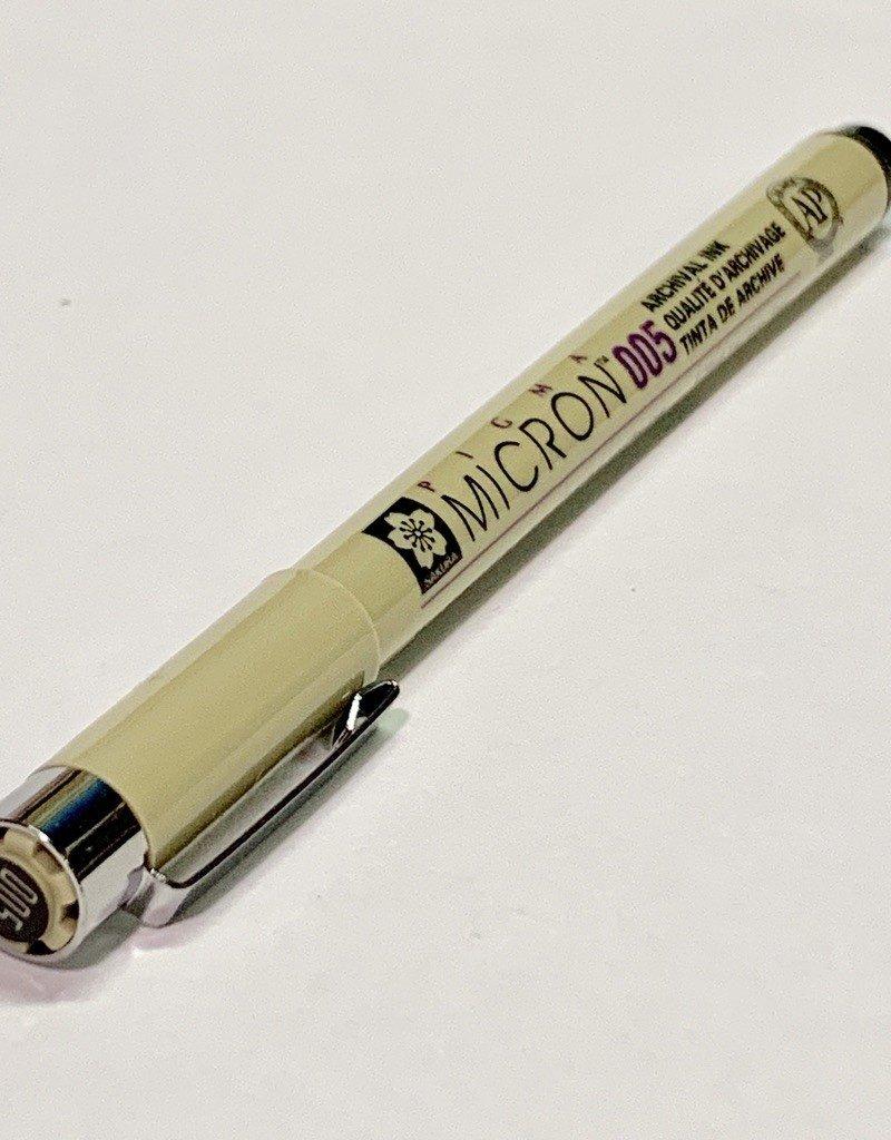 Micron Black Pen 005 .20mm