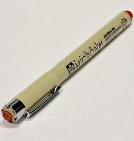 Sakura Micron Red Pen 01 .25mm