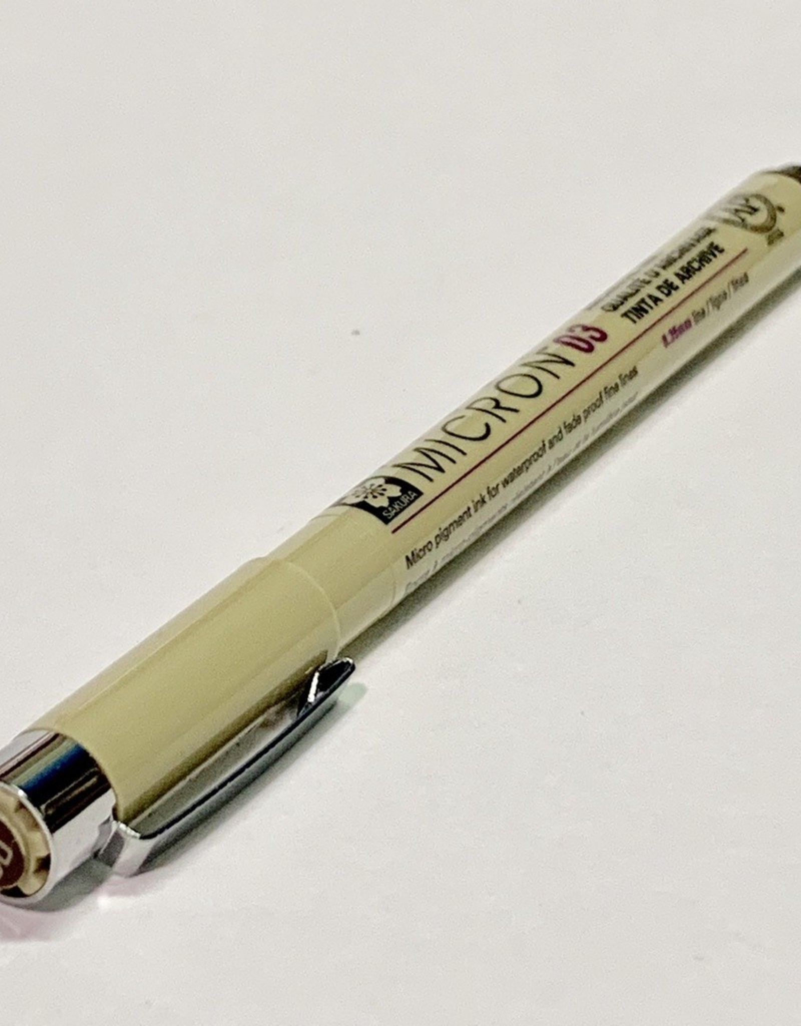 Micron Sepia Pen 03 .35mm