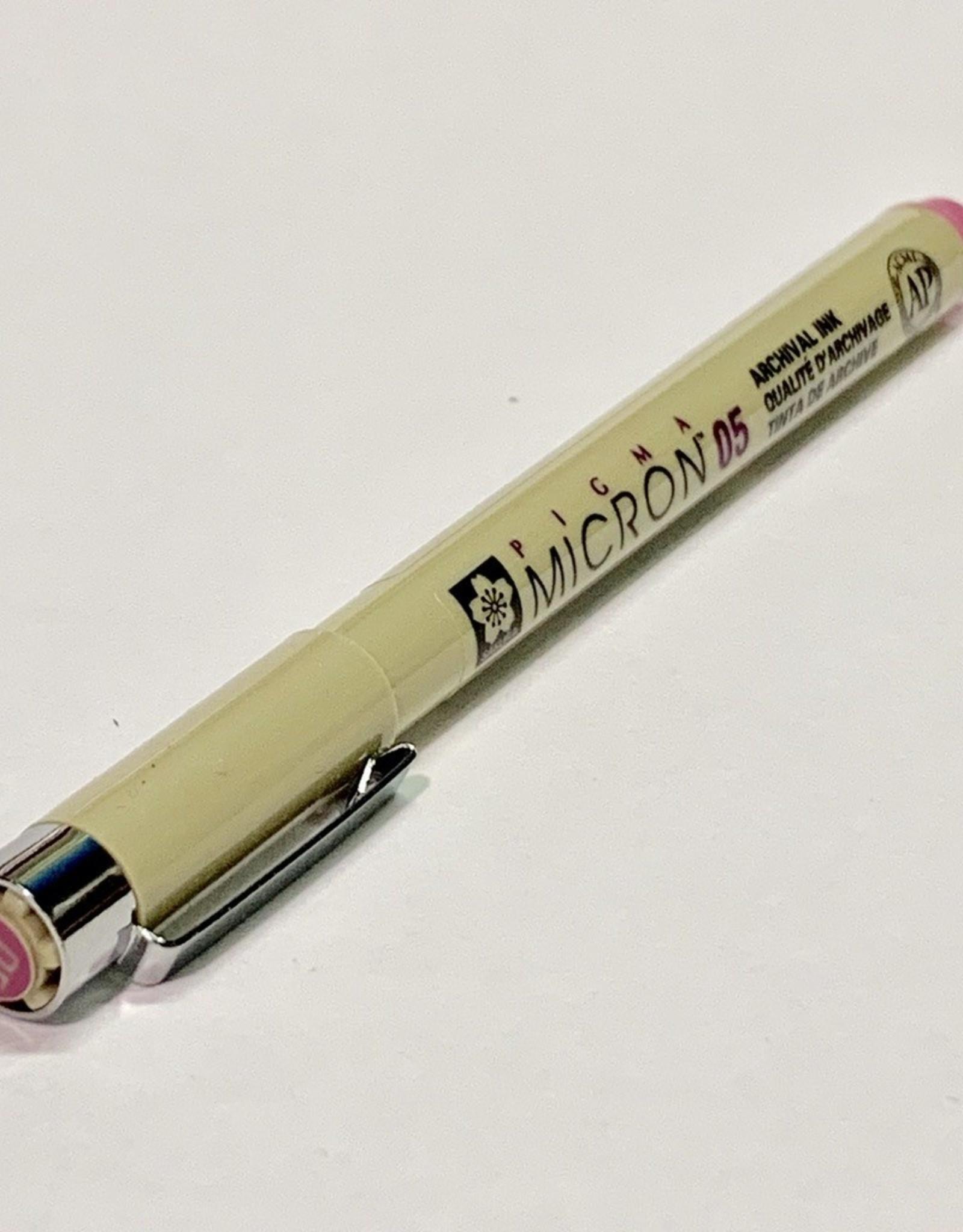 Sakura Micron Rose Pen 05 .45mm