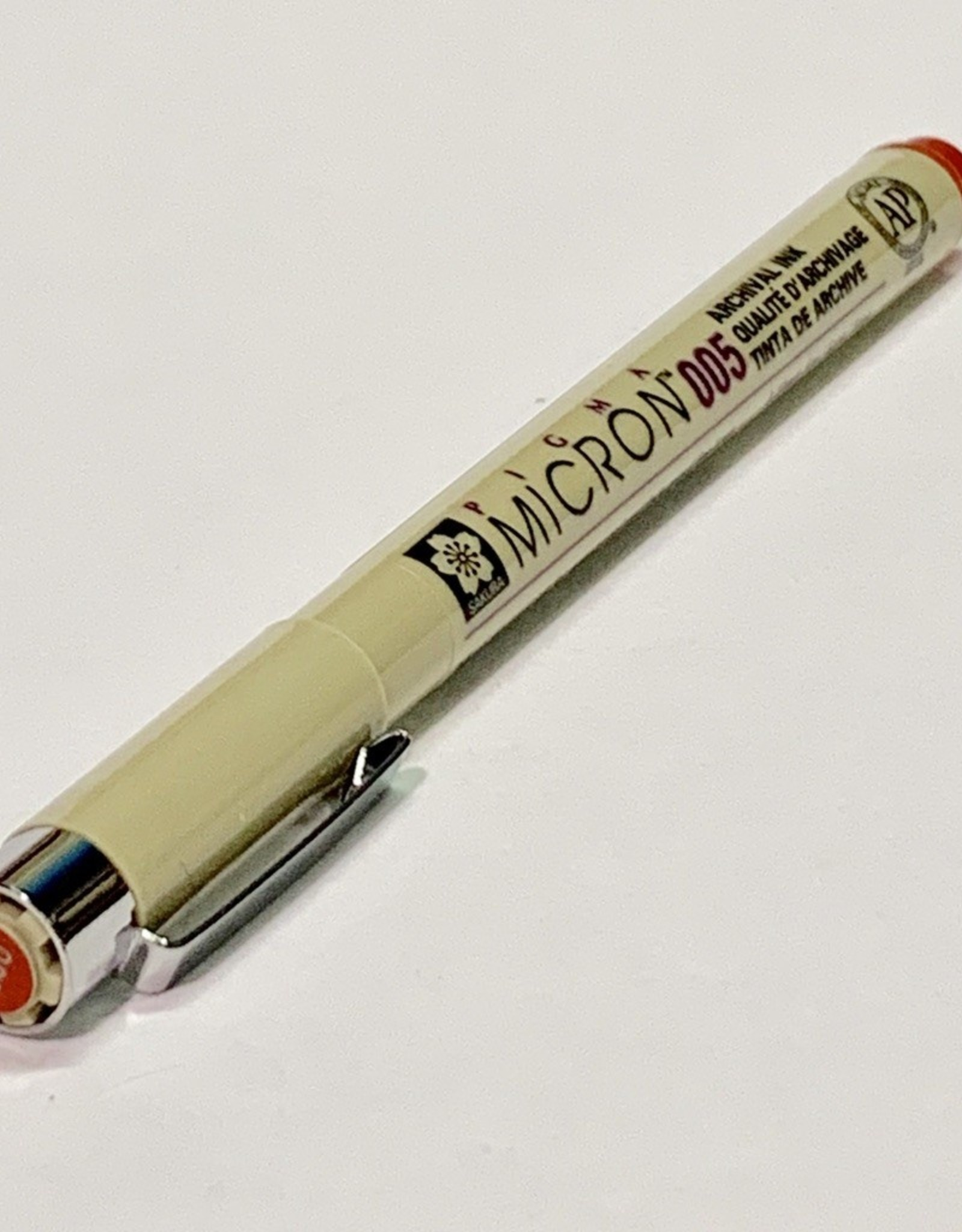 Micron Red Pen 005 .20mm