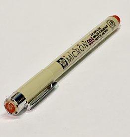 Sakura Micron Red Pen 005 .20mm