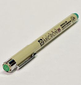 Sakura Micron Green Pen 05 .45mm