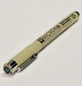 Sakura Micron Hunter Green Pen 05 .45mm