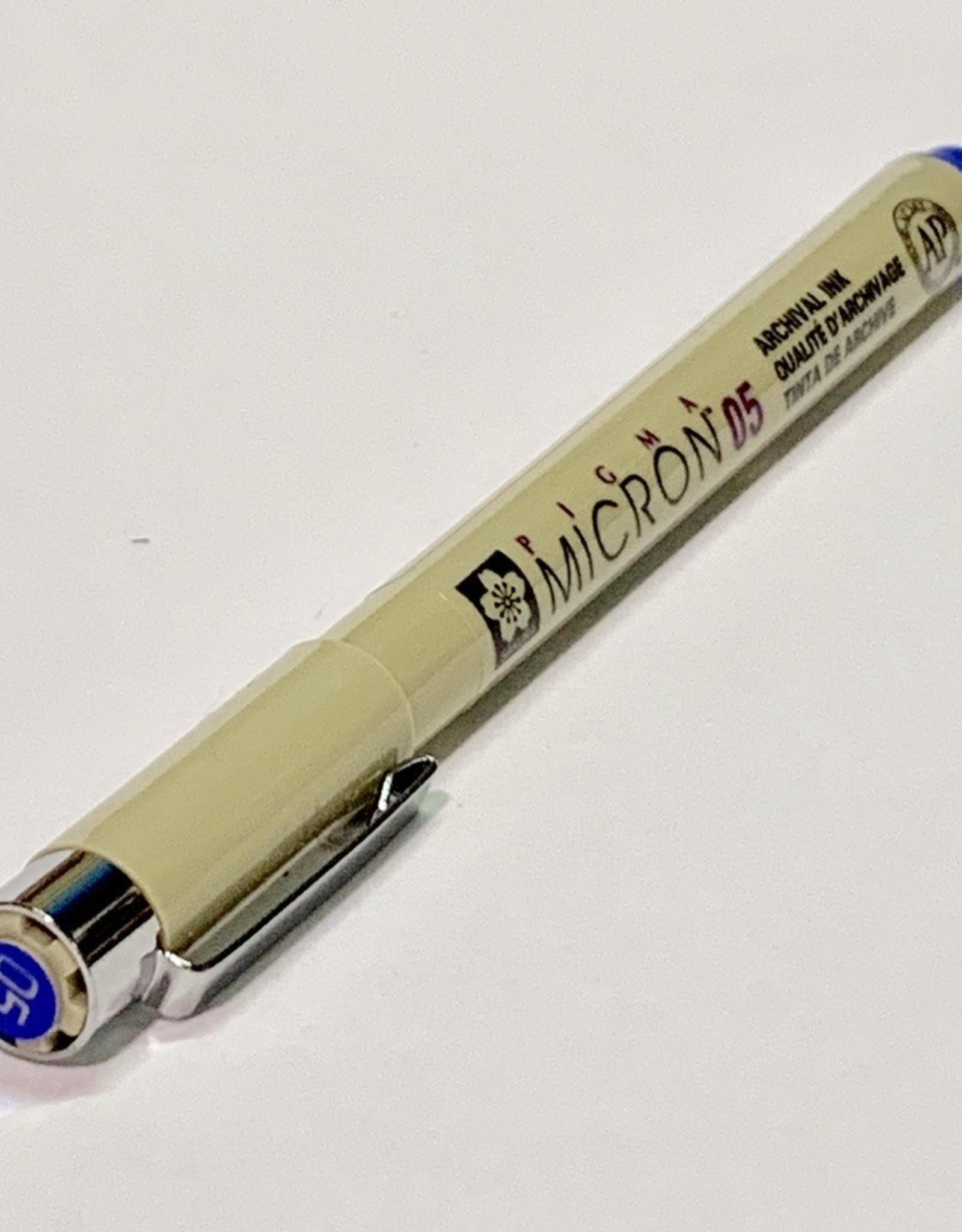 Micron Blue Pen 05 .45mm