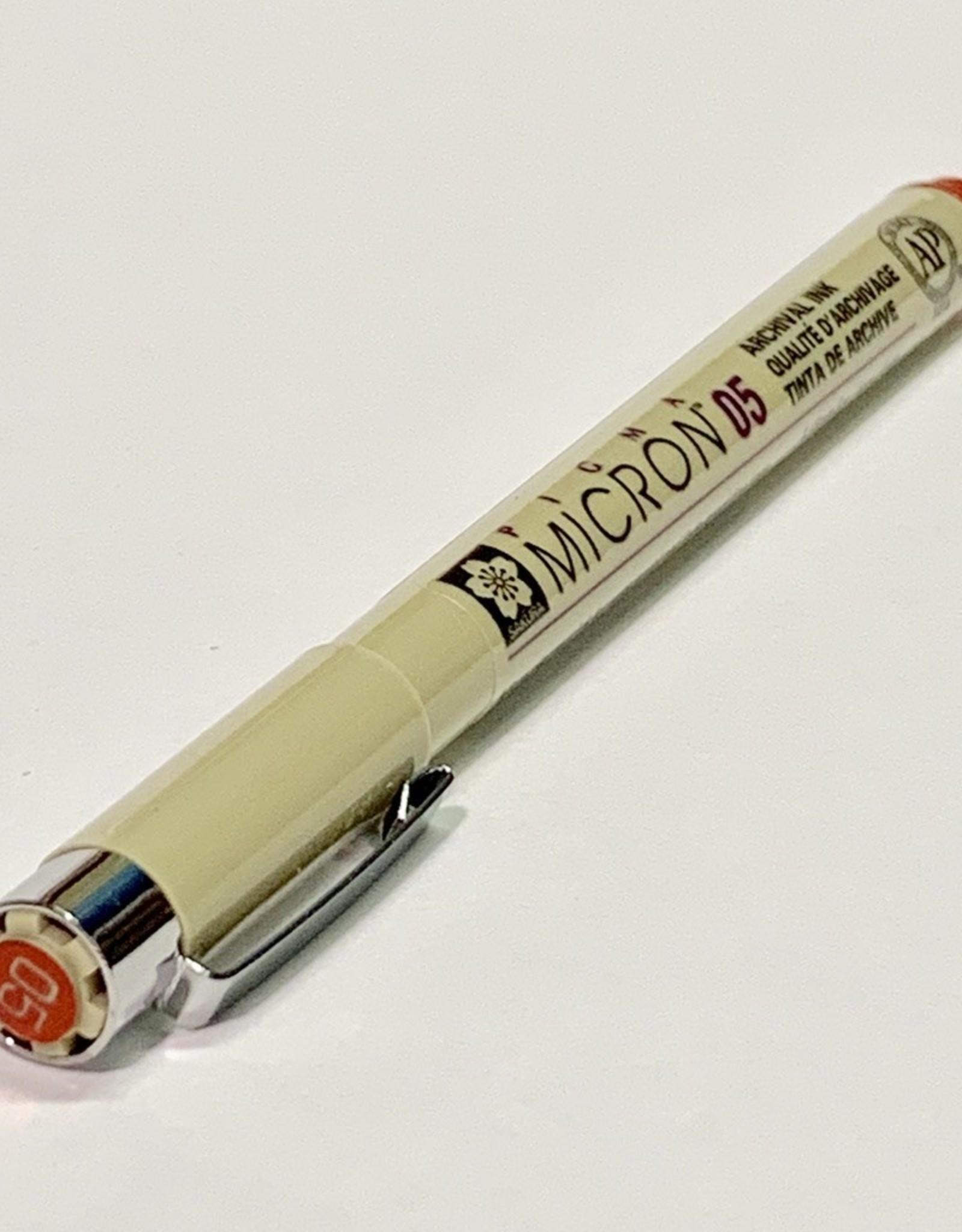 Sakura Micron Red Pen 05 .45mm