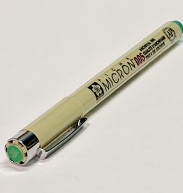 Sakura Micron Green Pen 005 .20mm