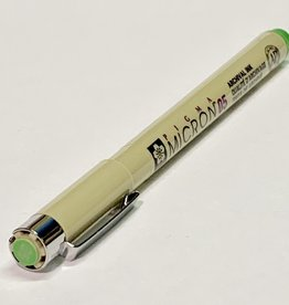 Sakura Micron Lime Green Pen 05 .45mm