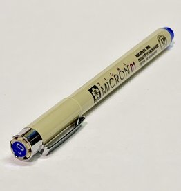 Sakura Micron Blue Pen 01 .25mm