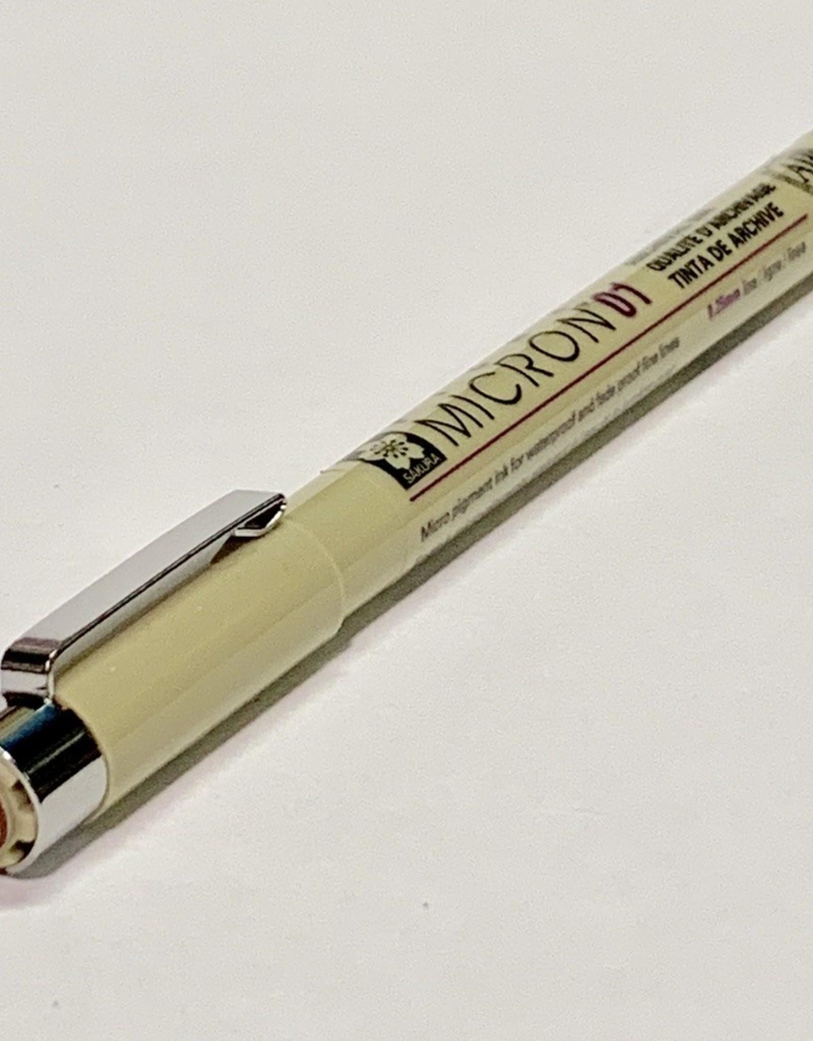 Sakura Micron Brown Pen 01 .25mm