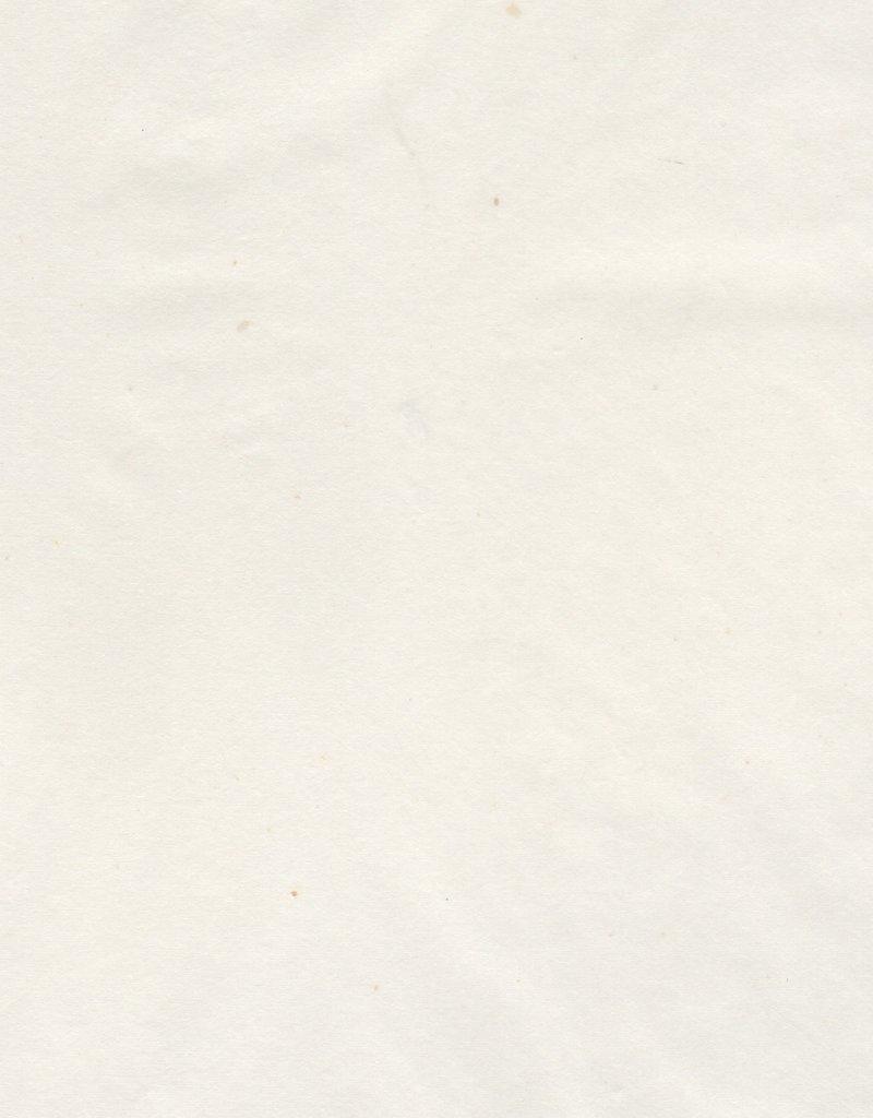 """Japanese Usuyou Gampishi White, 24"""" x 37"""", 10 gram"""