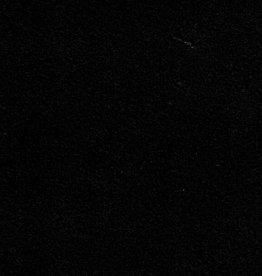 "Italy Revere Suede Black, 22"" x 30"", 250gr."