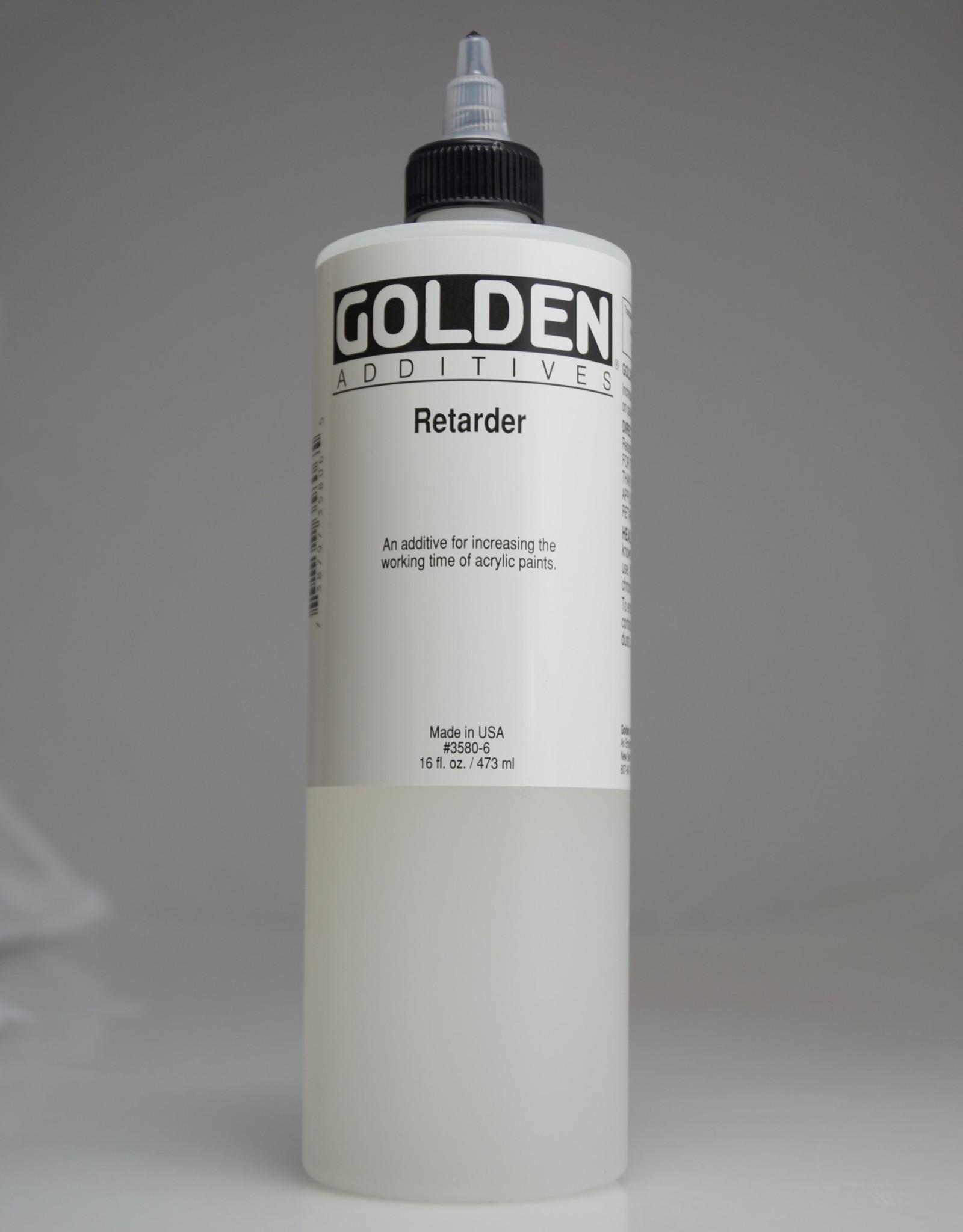 Golden, Retarder Medium, Pint 16 Fl Oz.