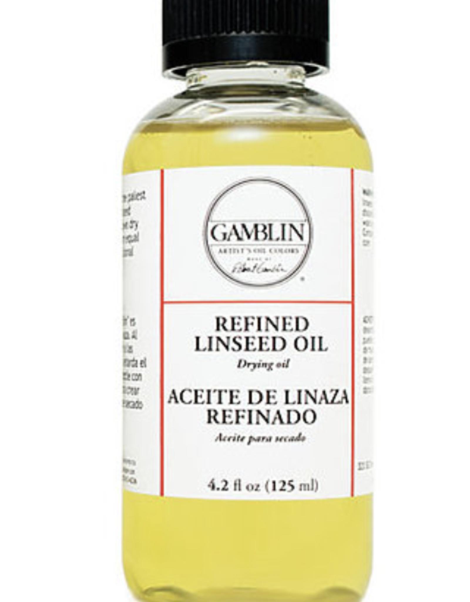 Gamblin, Refined Linseed, 16 fl oz