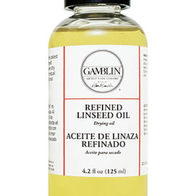 Gamblin, Refined Linseed, 16 fl oz