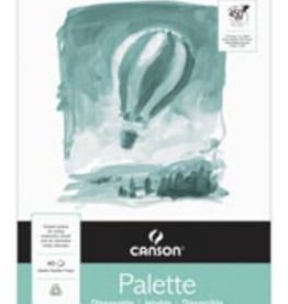 "Canson Disposable Paper Palette, White, 12"" x 16"""