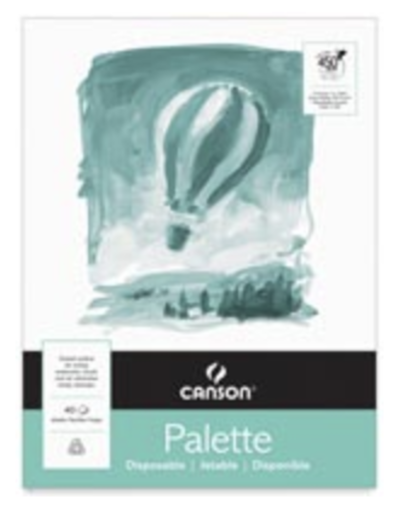 "Canson Disposable Paper Palette, White, 12"" x 16"""