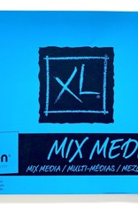 "Canson XL Mixed Media, Perforated Drawing Pad, 18"" x 24"" 30 sheets,"