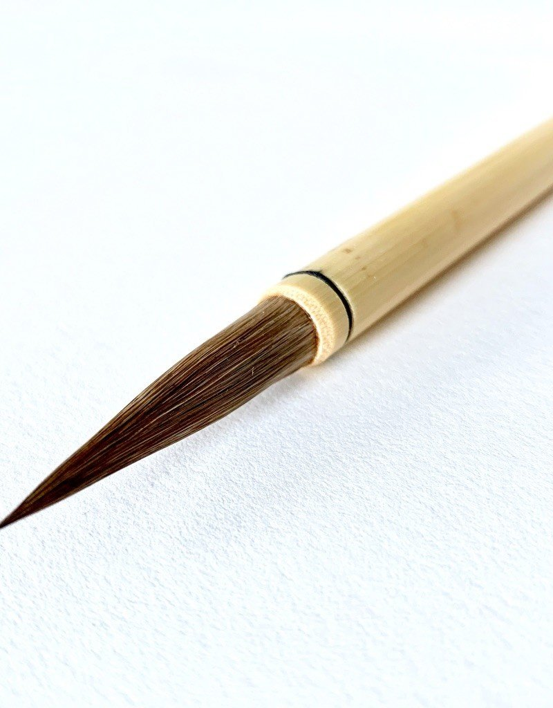 Yasutomo Bamboo Calligraphy Brush, CC4