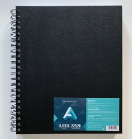 "Sketch Books, Spiral-Bound 8.5"" x 11"", 80 sheets"
