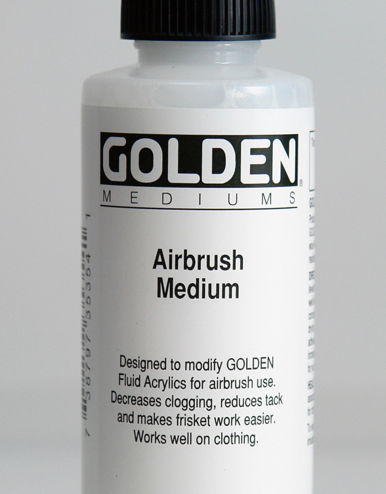 Golden, Airbrush Medium, Acrylic, 4 Fl Oz.