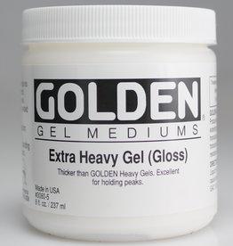 Golden, Extra Heavy Gel Medium, Gloss, 8oz Jar