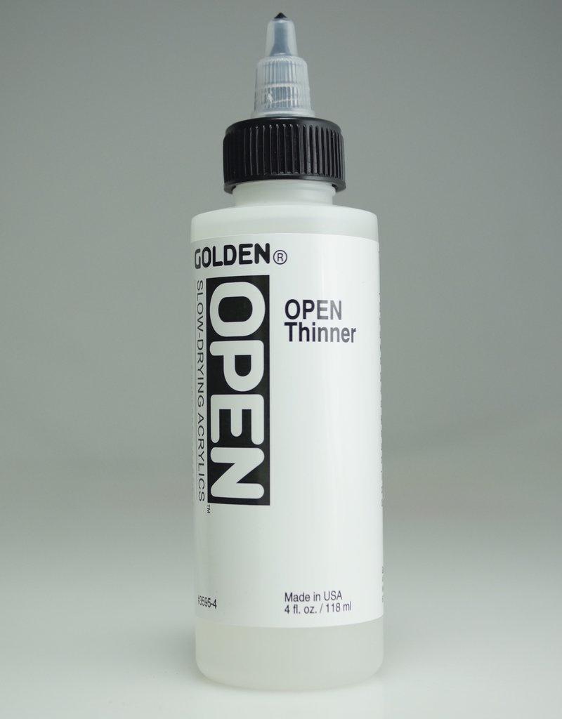 Golden OPEN Acrylic Thinner, 4 Fl Oz.
