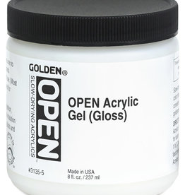 Golden OPEN Acrylic Gel, Gloss, 4 Fl Oz.