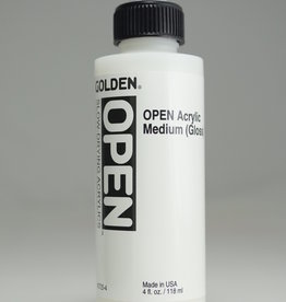 Golden OPEN Acrylic Medium, Gloss, 4 Fl Oz.
