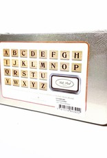 Rubber Stamp Set Alphabet