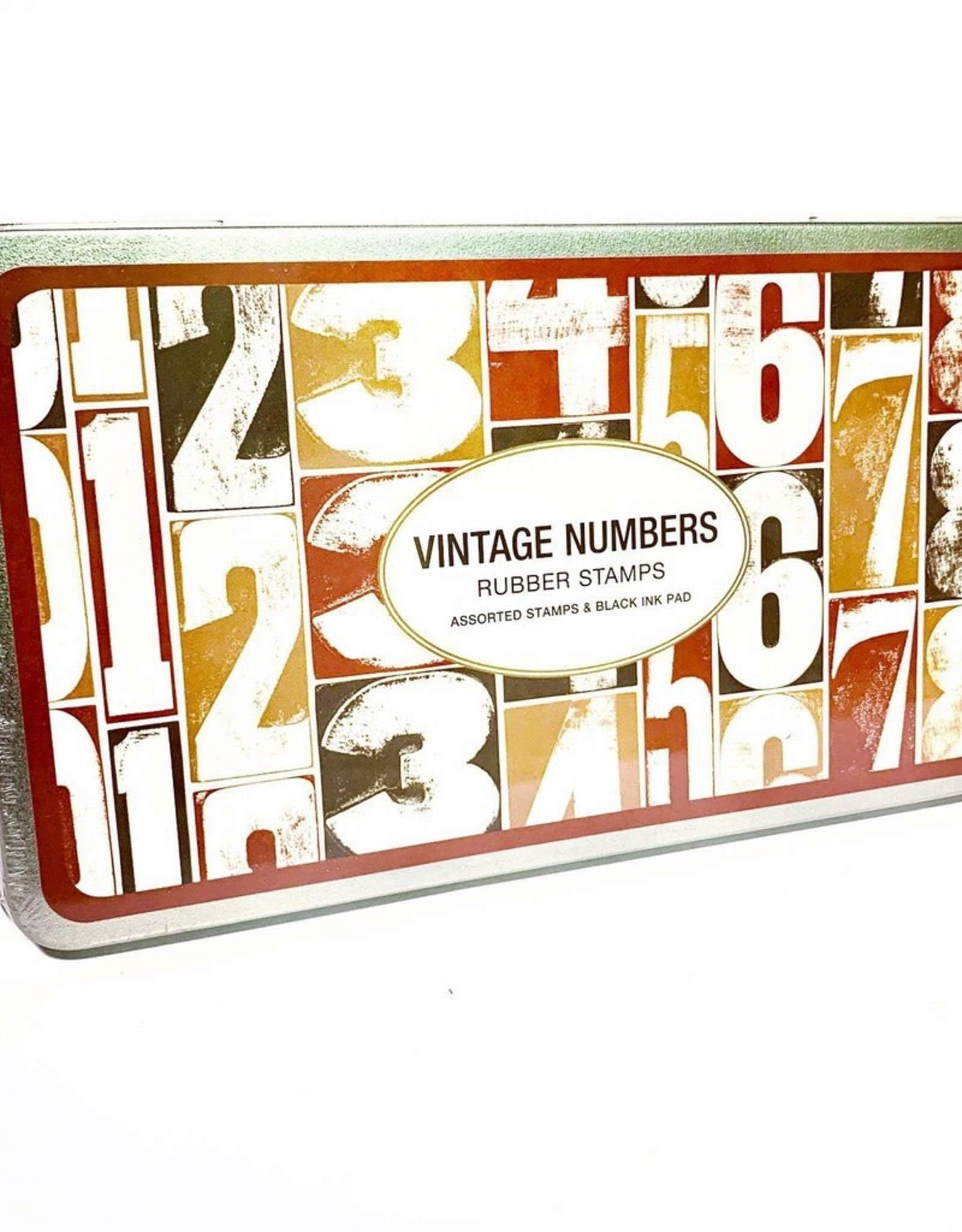 Rubber Stamp Set Numbers