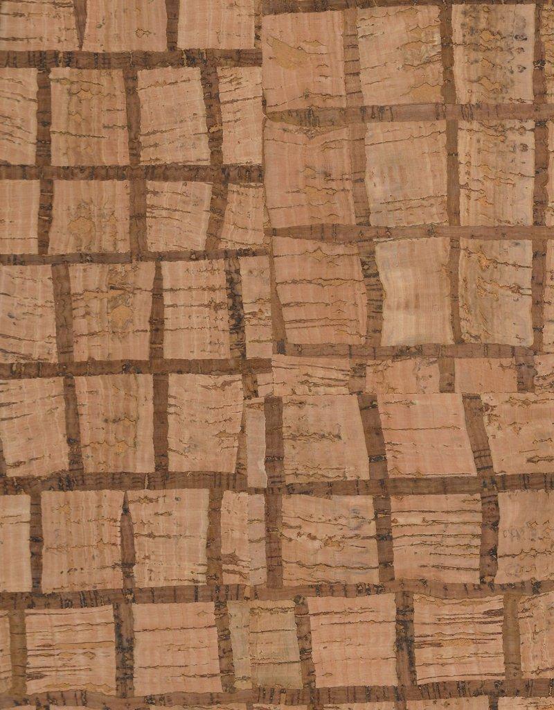 "Portugal Corkskin Pattern #170 Squares, 20"" x 30"""