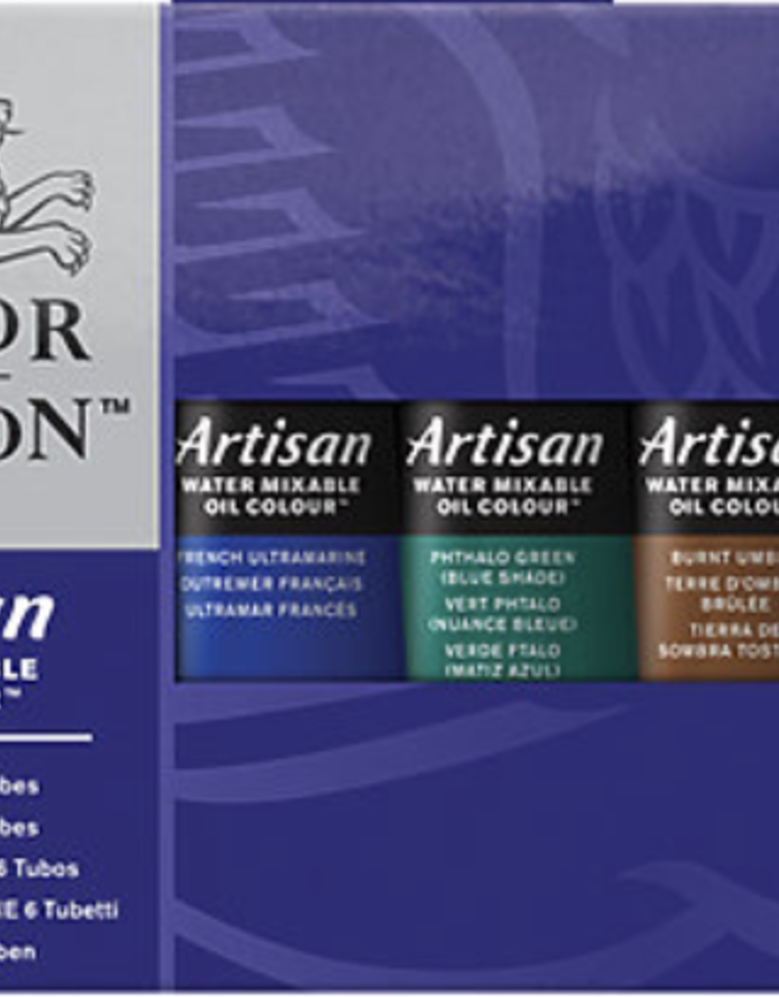 Winsor & Newton Artisan Water Mixable Oil Color Beginners Set