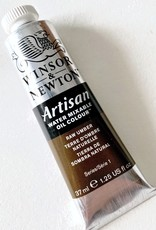 Winsor & Newton Artisan Water Mixable Oil Paint, Raw Umber, 37ml