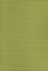 "Embossed Ridge Green, 23"" x 31"", 60gsm"