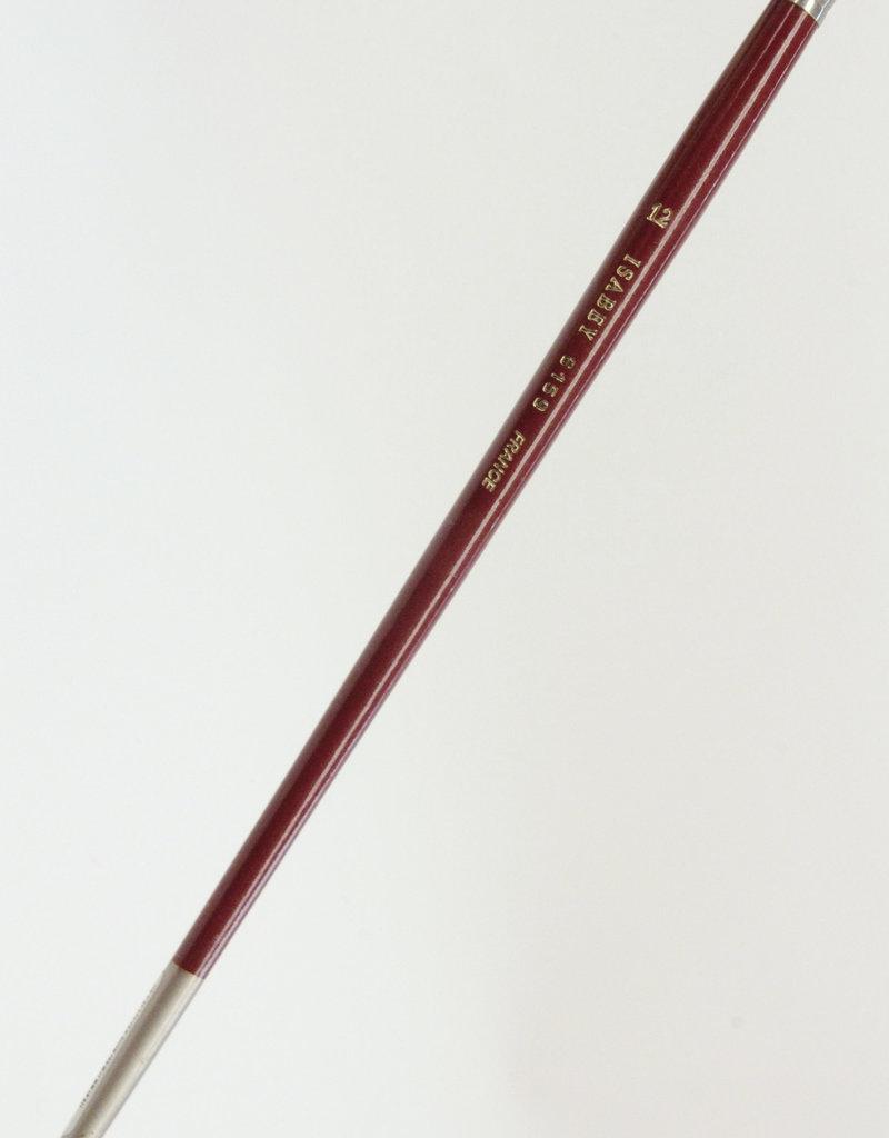 Isabey Mongoose Brush 6159 #12, Filbert