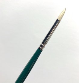 Winsor & Newton Brush, Round 1, Hog Hair for Oil or Acrylic Paint Bristle