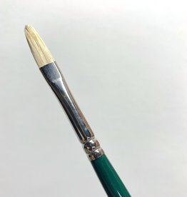 Winsor & Newton Brush, Filbert 3, Hog Hair for Oil or Acrylic Paint Bristle