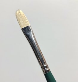 Winsor & Newton Brush, Filbert 4, Hog Hair for Oil or Acrylic Paint Bristle