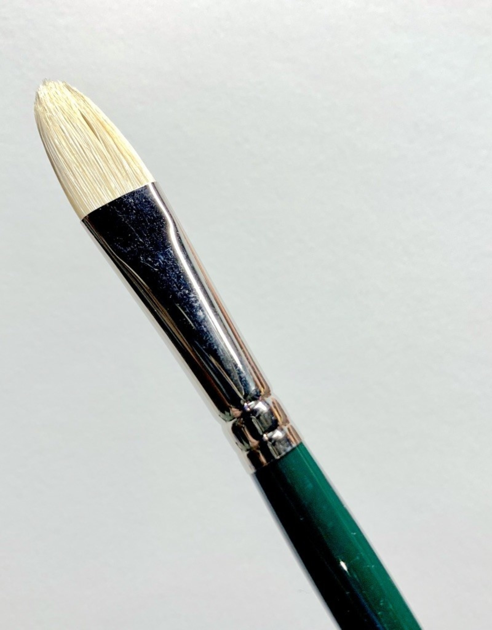 Winsor & Newton Brush, Filbert 8, Hog Hair for Oil or Acrylic Paint Bristle