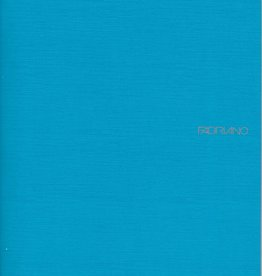 "Fabriano EcoQua Blank Notebook, Turquoise, 8.25"" x 11.5"" 40 Sheets"