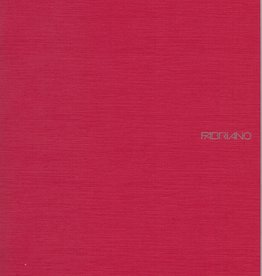 "Fabriano EcoQua Blank Notebook, Raspberry, 8.25"" x 11.5"" 40 Sheets"