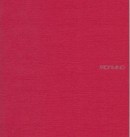 "Italy EcoQua Blank Notebook, Raspberry, 8.25"" x 11.5"" 40 Sheets"