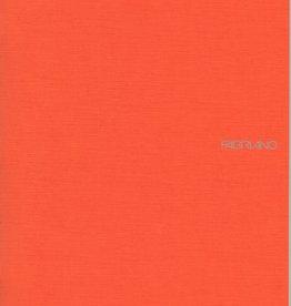 "Italy EcoQua Blank Notebook, Orange, 8.25"" x 11.5"" 40 Sheets"