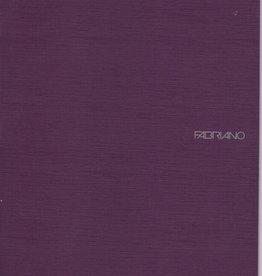 "Italy EcoQua Blank Notebook, Wine, 8.25"" x 11.5"" 40 Sheets"