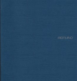 "Fabriano EcoQua Blank Notebook, Navy, 8.25"" x 11.5"" 40 Sheets"