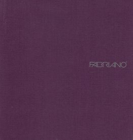 "Italy EcoQua Blank Notebook, Wine, 5.75"" x 8.25"" 40 Sheets"